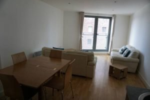 Apartment for rent in Leeds living room