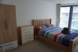 Apartment for rent in Leeds Echo Central bedroom